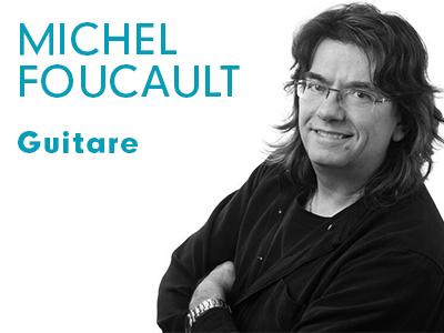 Michel Foucault - guitare