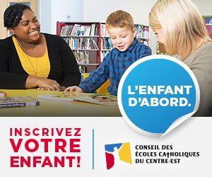 publicité du Conseil des écoles catholique du centre-est