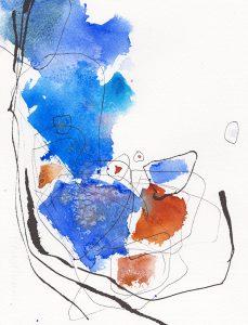 Oeuvre Explorer de l'artiste visuelle Josée Prud'homme