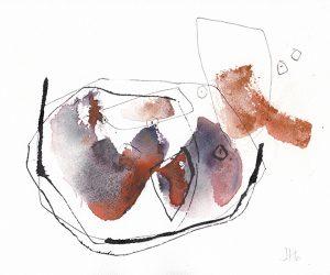 Oeuvre Évoluer de l'artiste visuelle Josée Prud'homme