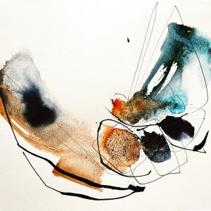 Oeuvre Voler 6 de l'artiste visuelle Josée Prud'homme