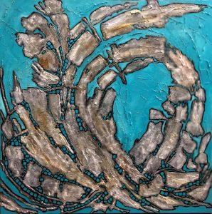 Oeuvre La Déferlante 2 de l'artiste visuelle Josée Prud'homme