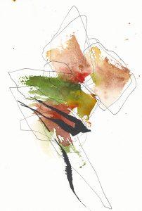 Oeuvre Tournoyer de l'artiste visuelle Josée Prud'homme