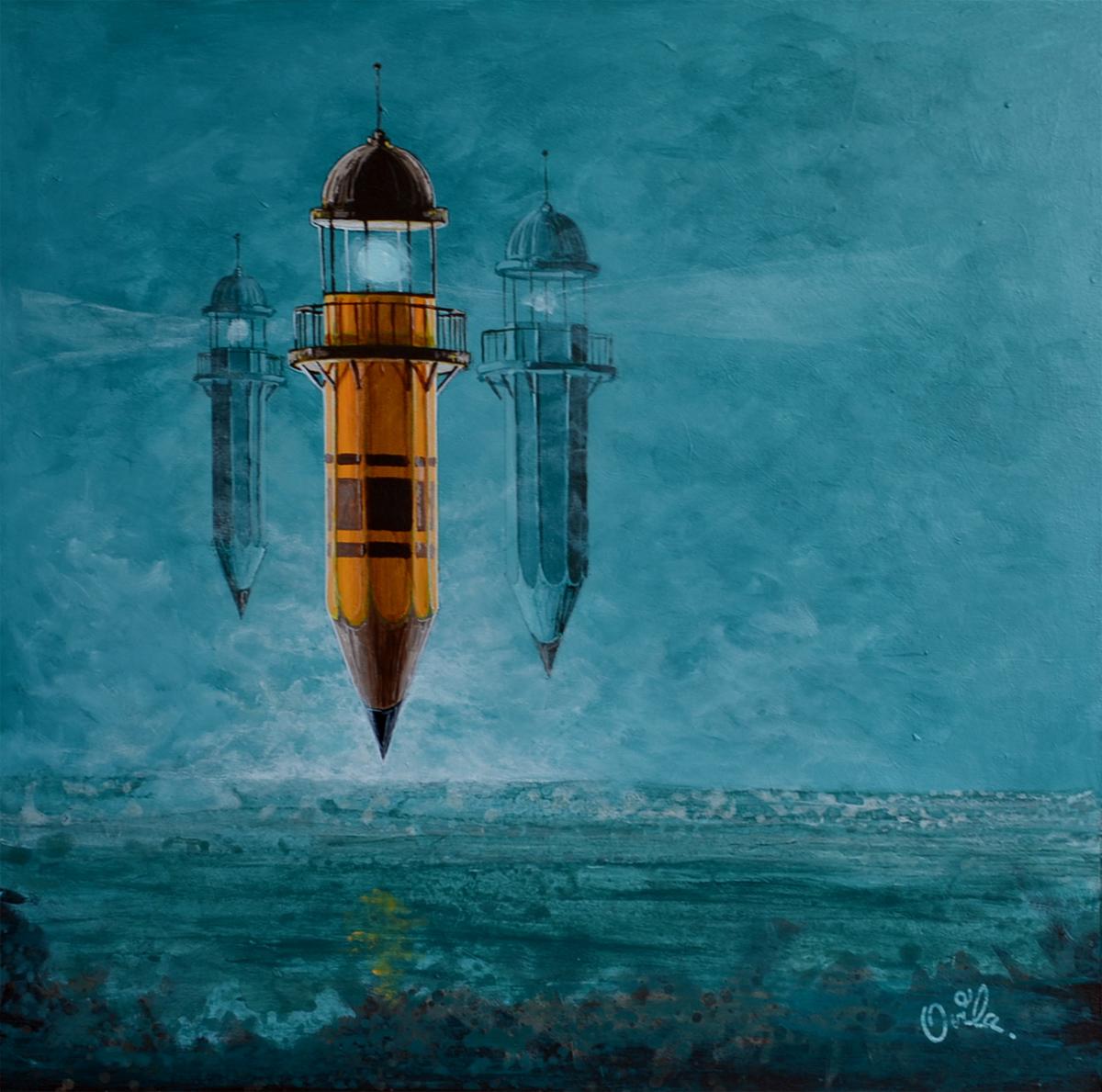 Oeuvre de l'artiste visuel Ovila