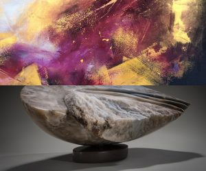 oeuvres d'Angela Verlaeckt Clark et Priscilla Charbonneau